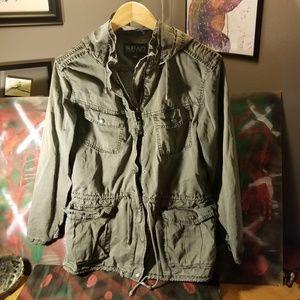 David Bitton Buffalo cargo jacket mens medium